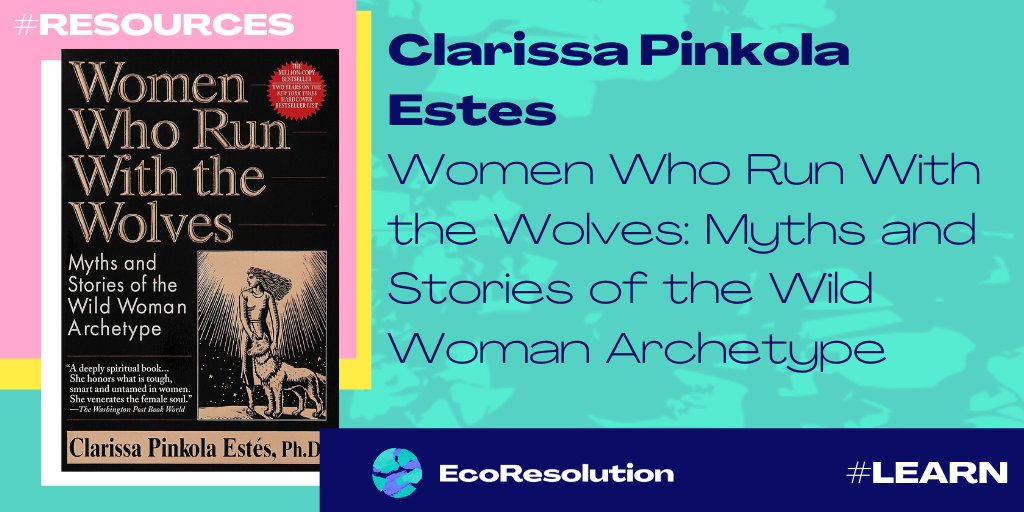 #LetsShare #Resources @Clarissa_Estes Using multicultural myths, fairy tales, folk tales, and stories, Dr. Estes helps women reconnect with the healthy, instinctual, visionary attributes of the Wild Woman archetype #myecoresolution #learn #wildwomen #natureconnection