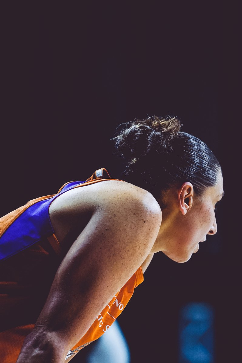 The @WNBA record for threes in a game is 9.  Diana Taurasi has 6... at halftime.