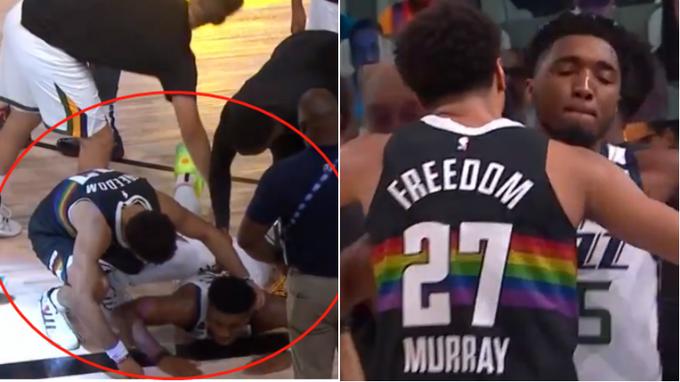 【影片】太暖了!米切爾致命失誤後倒地懊惱,誰注意到Murray?飛奔安慰送出擁抱!
