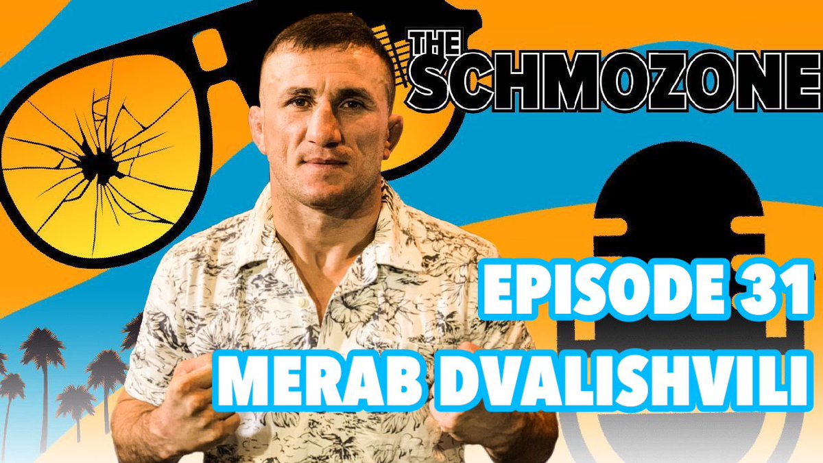 Episode 031 is LIVE!! @TheSchmo312 @HelenYeeSports featuring @MerabDvalishvil #TheSchmozone Watch here —-> https://t.co/fyoMbxsOwq https://t.co/qbtgowQVa9