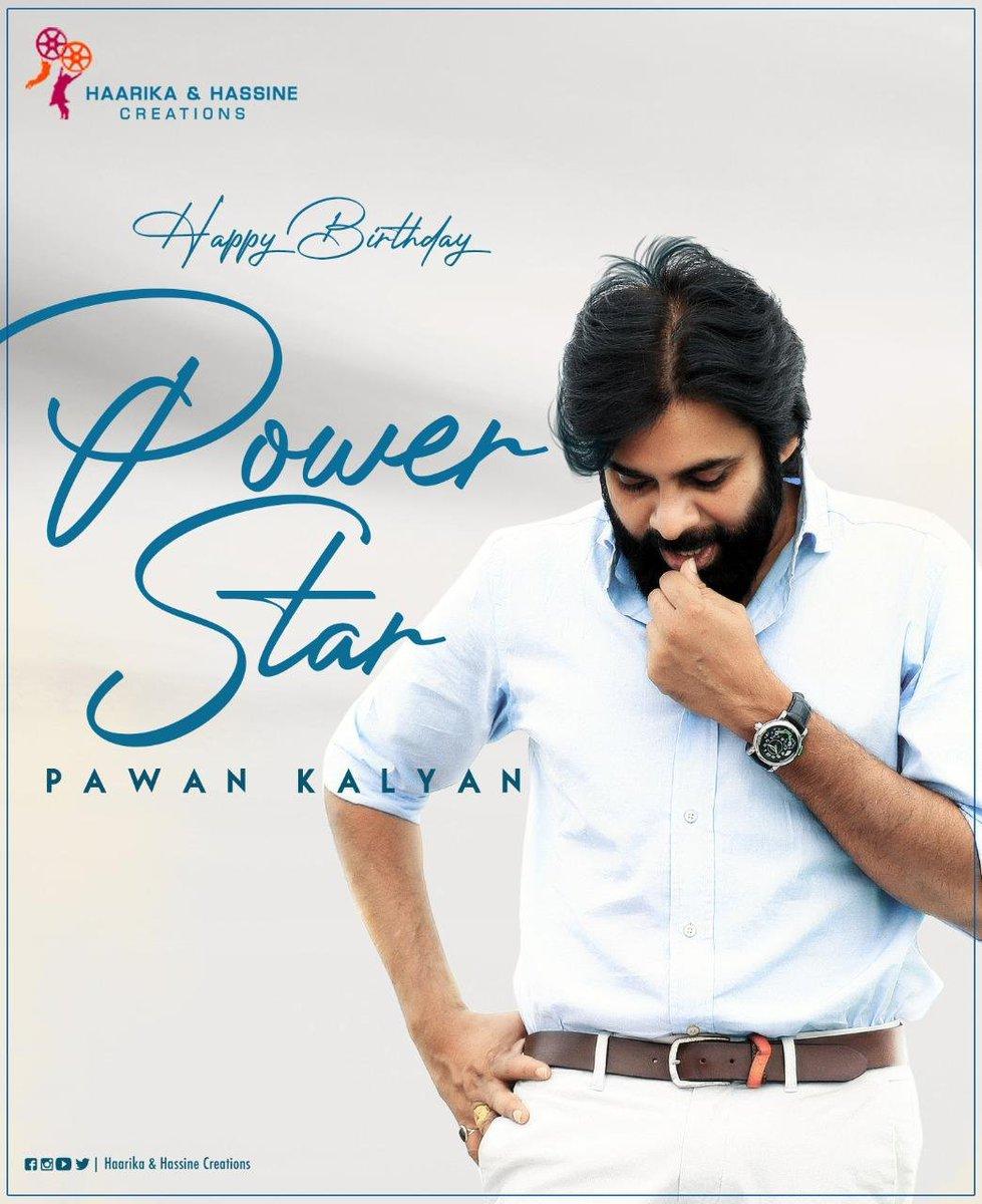 Wishing #Powerstar @PawanKalyan sir a very happy birthday 💐💐💐 #HBDPowerStar #HBDPaᴡanKalyan https://t.co/dV5uV7LSGG