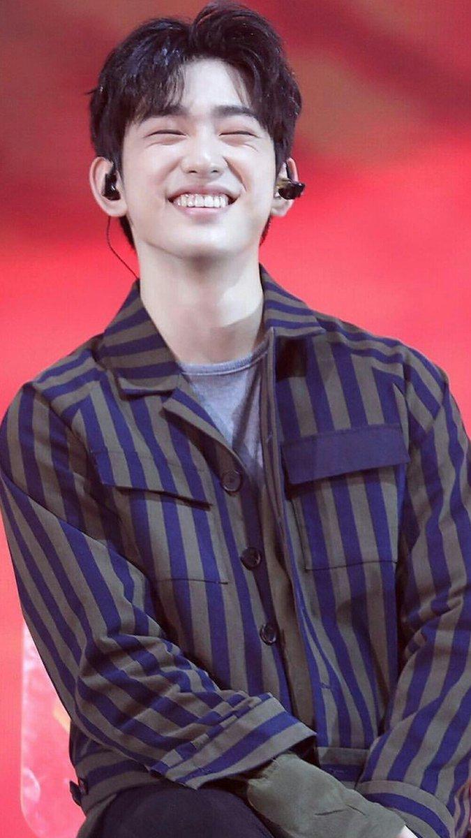 "PepiN🍑 on Twitter: ""Beautiful smile #Jinyoung #GOT7 #갓세븐진영 #갓세븐  @GOT7Official… """