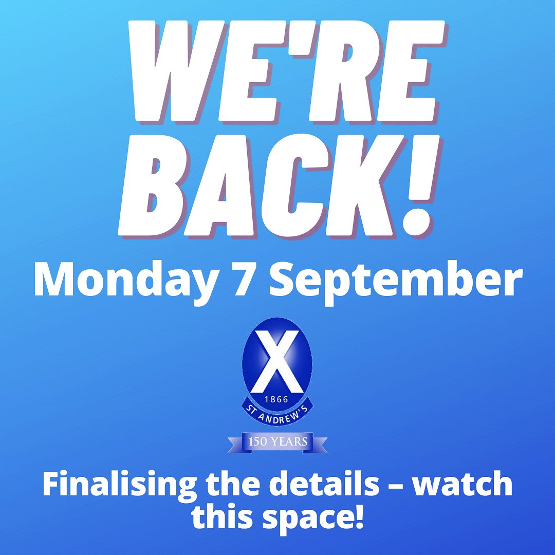 We are reopening the Club doors on Monday 7 September - with appropriate safety measures in place.   Details are currently being finalised and will be released later this week - watch this space!  We can't wait to see some familiar faces in the coming weeks 😁 https://t.co/2wkJkQOak9