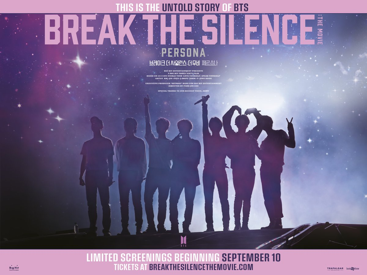 #Singapore #ARMY! We have 5 pairs of tix to #BTS Break the Silence, for the 14 Sep, 7pm screening at GV Tiong Bahru. All you need to do is follow @gvmovieclub on FB & @sgxclusive on IG, then leave us a comment with proof screenshots! Contest runs till 11/9, 1159PM! #giveaway https://t.co/wX6hs2GL4Y