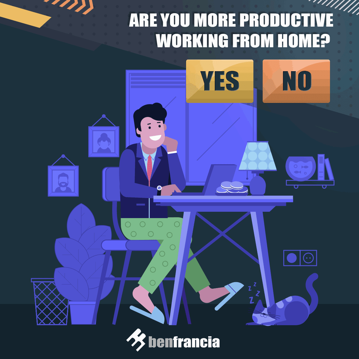 #TeamOffice or #TeamWFH? What works best for you?  Learn more about WFH Productivity here: https://t.co/xvYZuNXjSo   #DigitalMarketing https://t.co/5I6utQhNJL