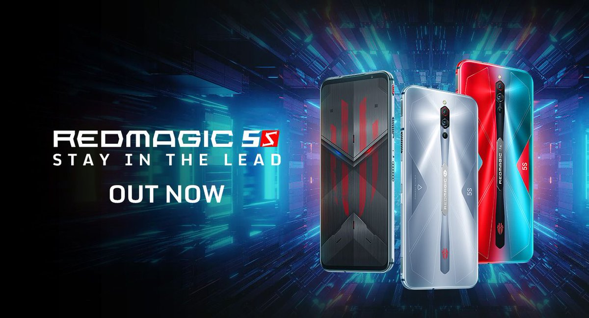 The RedMagic 5S is now globally available! Get the coolest phone of the year today! https://t.co/T3wY9qPxn9 https://t.co/ouXYL3C8yx