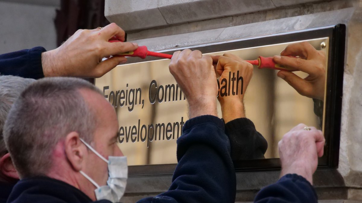 We are now the Foreign, Commonwealth & Development Office #FCDO https://t.co/cwBYdpUBSJ