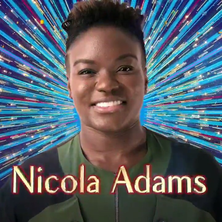 Swapping Olympic gold for Saturday night glitter. Boxer Nicola Adams OBE is stepping into the #Strictly ring! 🥇 👉 bbc.in/NicolaAdams @nicolaadamsobe