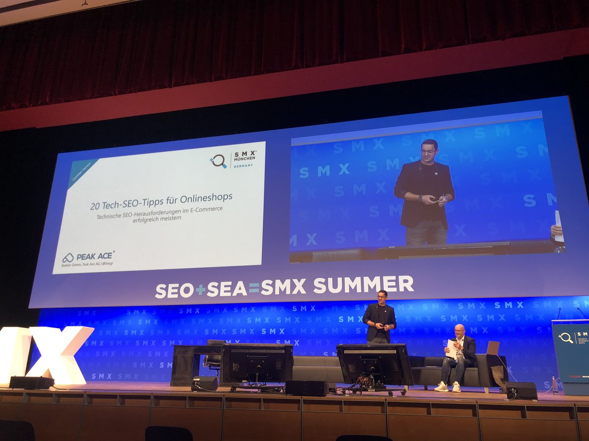 Technical SEO in e-commerce by @basgr #smx2020 https://t.co/bQhGiOuuer
