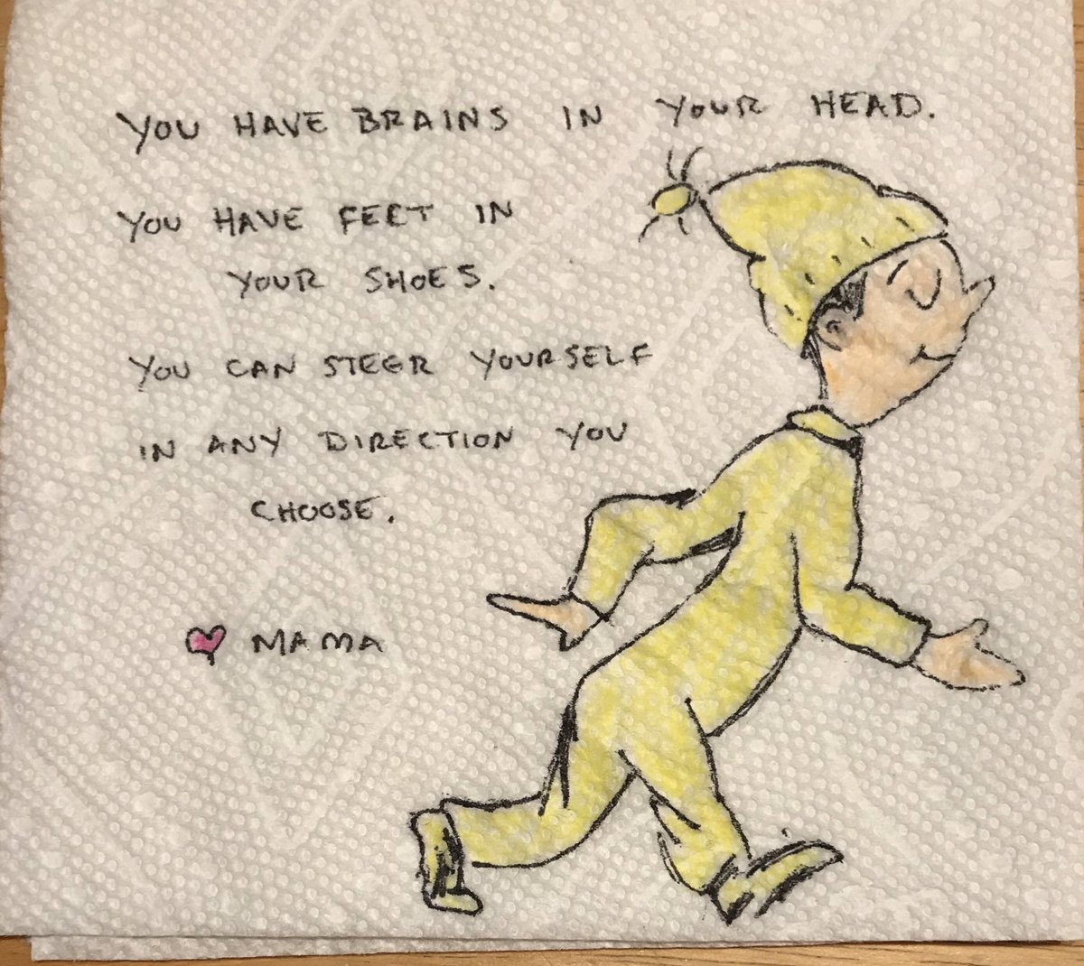 You have brains in your head. 🧠  You have feet in your shoes. 🦶  You can steer yourself in any direction you choose. 🔀 - Dr. Seuss  #drseuss #firstdayofschool #drseussquotes https://t.co/CC90n9hoQj