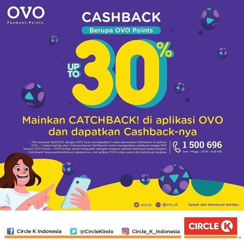 Catchback! teruuss, belanja terusss! Mumpung cashback up to 30% dari @ovo_id diperpanjang, jadi kesempatan kamu borong di CIrcle K juga jalan terus nih.. Kuylah! . Berlaku sampai tanggal 30 September 2020. https://t.co/UvTe3U3tkQ