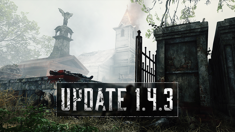 "Hunt: Showdown on Twitter: ""PC Hunters, Update 1.4.3 is now Live! Make sure  to take a look at our Update notes below. Happy Hunting!  https://t.co/Wew2DAPKW4… https://t.co/pAtyTrrOKj"""