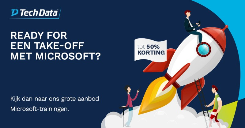 Wilt u ook een allround Microsoft-goeroe…