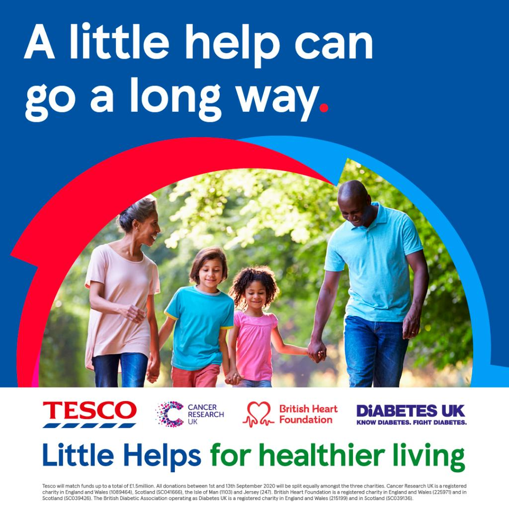 Round up your shop to the nearest £1 at your local store from the 1-13 September to support our health charity partners @CR_UK @TheBHF and @DiabetesUK #EveryLittleHelps https://t.co/5nI17O8EqX