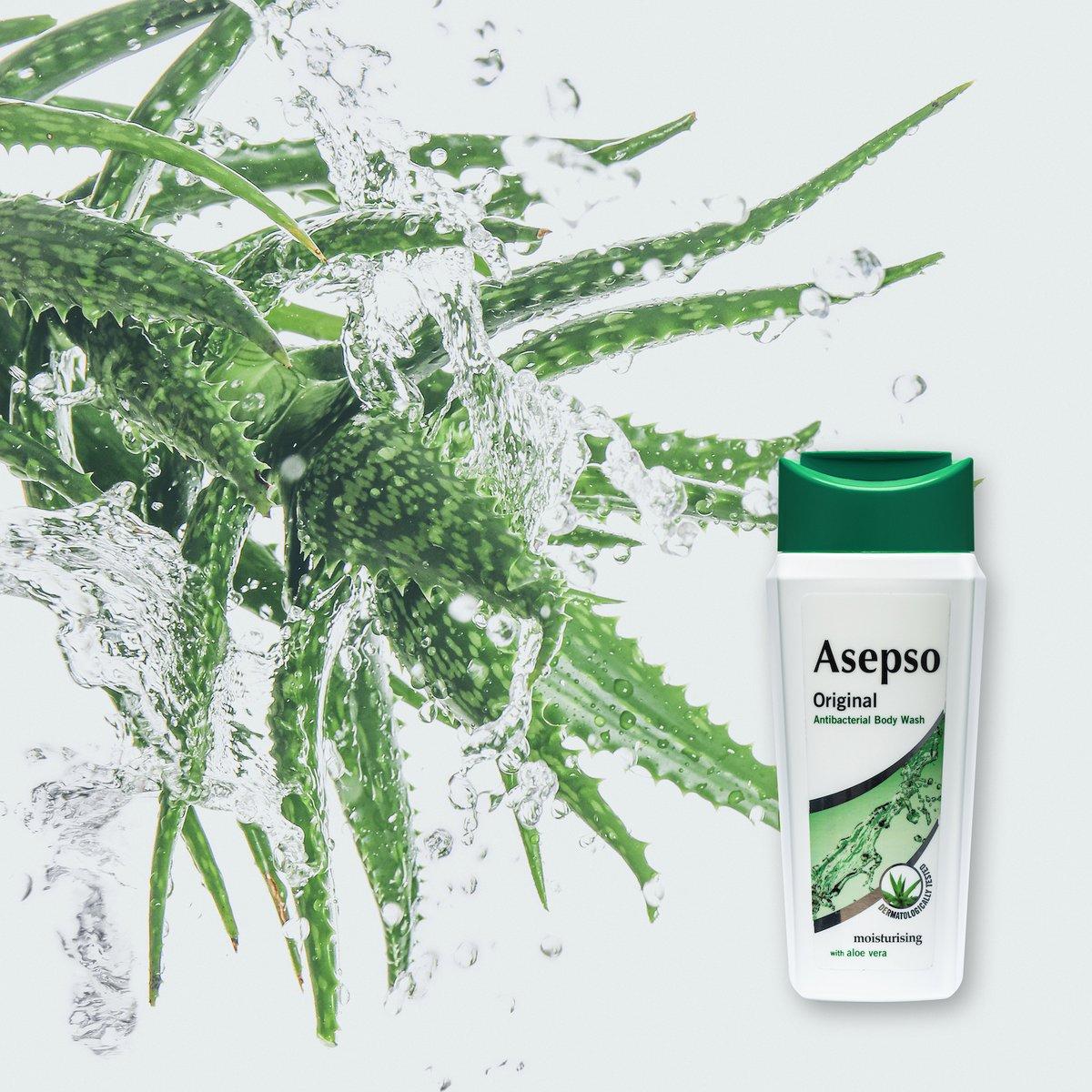 📸 #Asepso Body Wash Original 🚿💚 https://t.co/DHO33W5jTO
