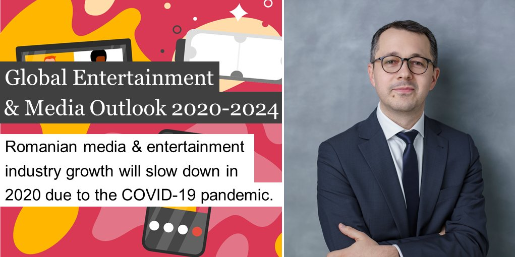 The growth rate of the media and entertainment industry in Romania will reduce to 0.26% this year, from over 8% in 2019, due to the restrictions imposed by the COVID-19 pandemic. More here: https://t.co/9bZGoGKoBN. https://t.co/z4v74q6JWi
