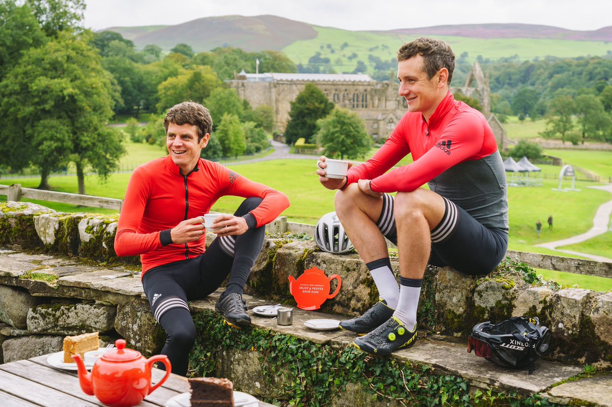 Exciting News!  We've teamed up with our friends at @YorkshireTea to launch #TheCafesAreOpen challenge  Starting this Friday (4th Sept), we want you to visit some of @AliBrownleetri and @jonny_brownlee's favourite Yorkshire cafes  Read all about it here: https://t.co/Q21vX13KRS https://t.co/3Oo5xKt7HU