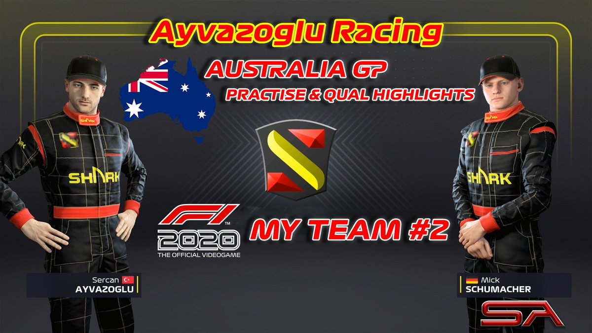 Ladies & Gentleman ! Fasten your seatbelts please ! We touchdown the track on Australia first time  🏁🇹🇷  #formula1 #f1 #f12020myteam #f12020career #f1game #f12020 #simulation #simracing #australia #albertpark #melbourne #ayvazogluracing #mickschumacher  https://t.co/rznTwyvMPd https://t.co/c6RPeSptnB