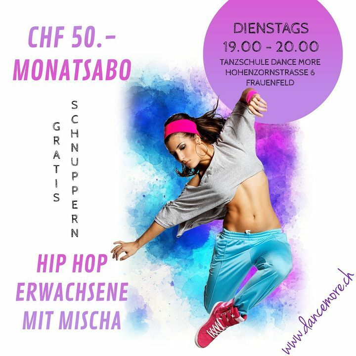 WIR SIND READY!!! UND DU? Hip Hop für Erwachsene mit Mischa jeweils am Dienstag😉 Let us Dance💃🕺 #hiphop #frauenfeld #moveyourass #dance #fun #letsgo @mehaleena @michalvajcik https://t.co/Em6BUXcXGt https://t.co/rmUqkTVCSW
