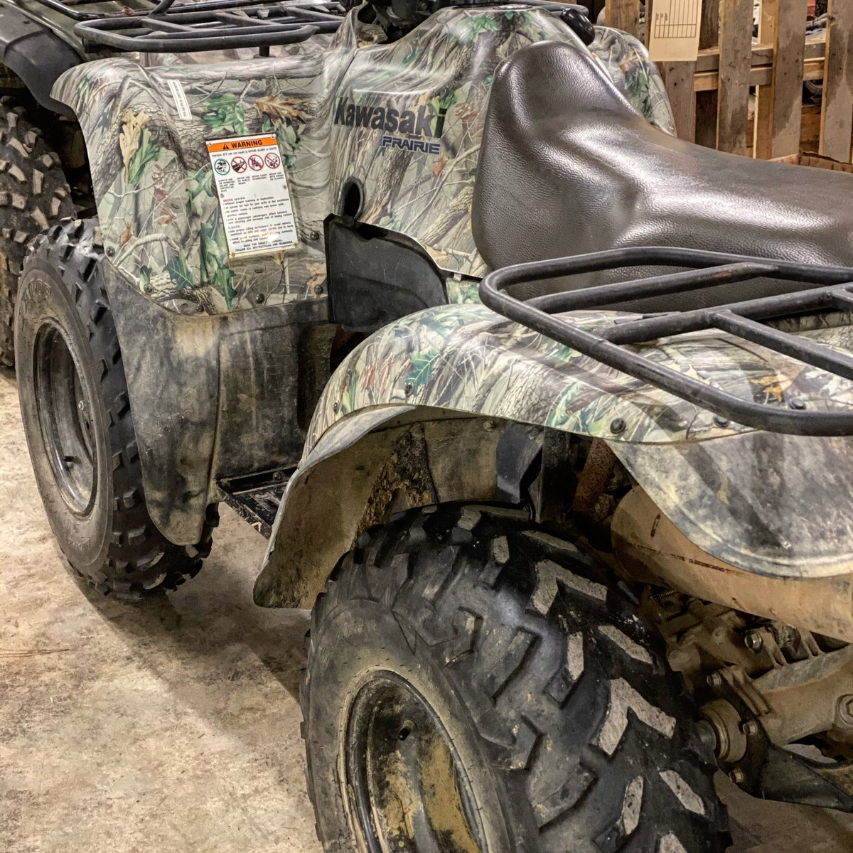 We repair #fourwheelers! Call (662)210-4278 to schedule an appointment with us. 🦆🦌 https://t.co/DuQStKfn0u