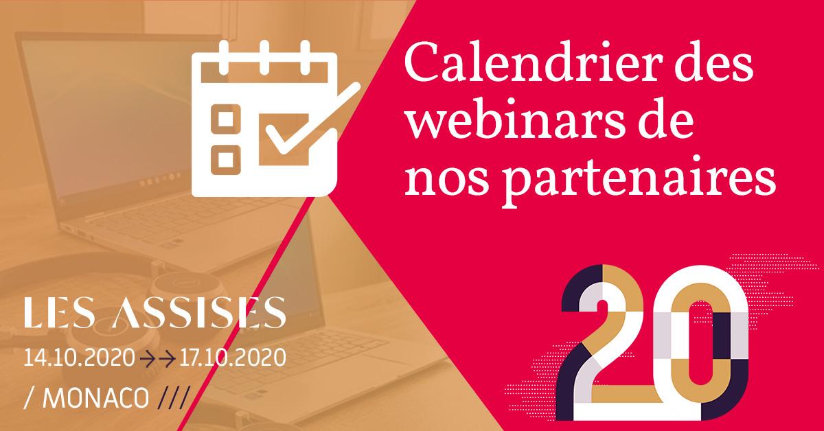 #Webinars : A vos agendas ! En attendant d'être à #LesAssises, retrouvez les dernières tendances cyber et les best practices à travers les webinars de nos partenaires.  Inscrivez-vous y ici : https://t.co/iEmr9aAiKG https://t.co/kVMkHN33vM