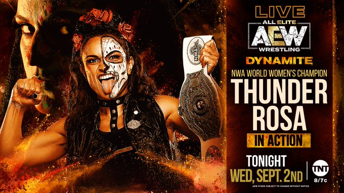 Thunder Rosa to Debut on Tonight's Dynamite, Updated AEW Rankings, More