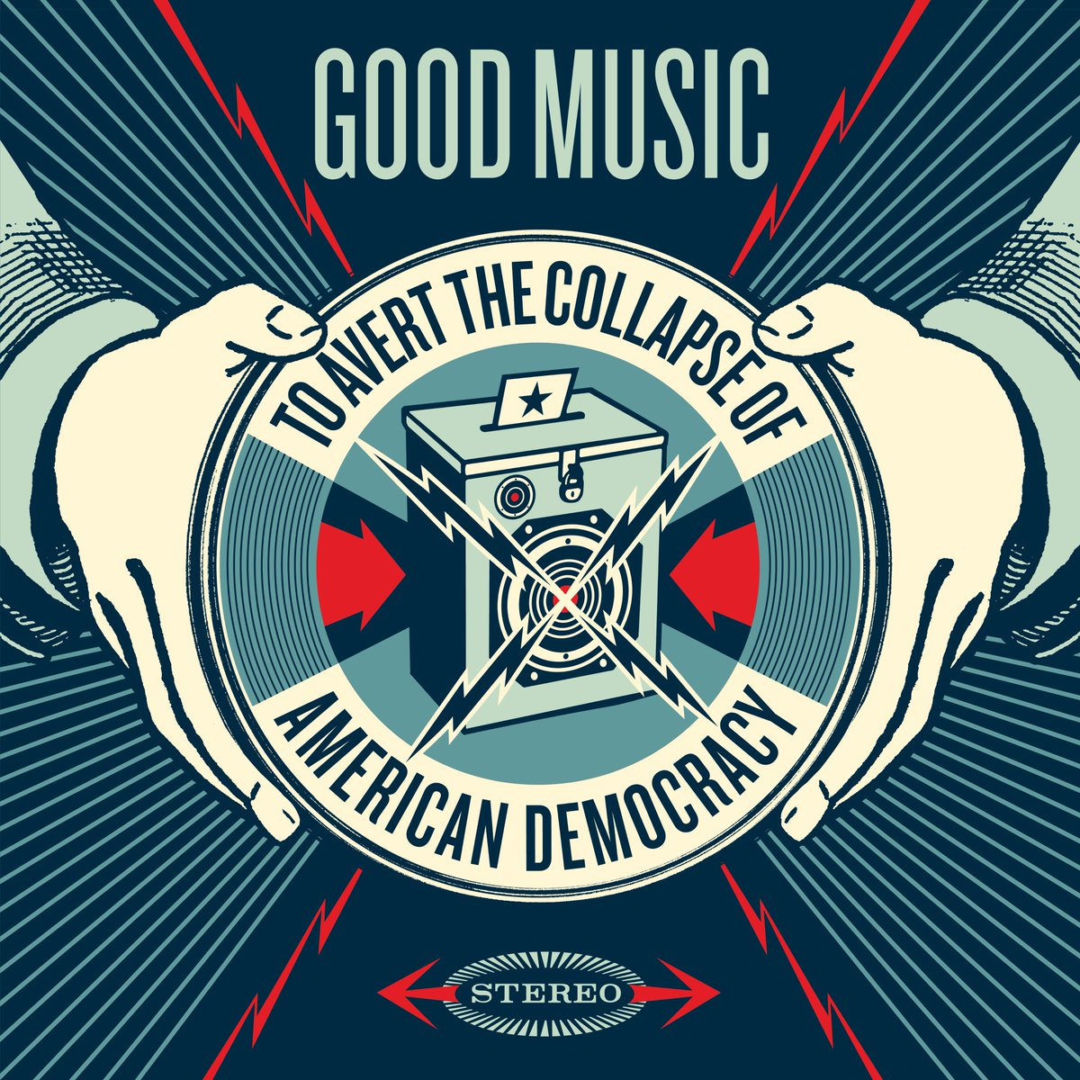 'Good Music To Avert The Collapse Of American Democracy' – a fundraising compilation featuring a previously unreleased The Decemberists track will be available for 24 hours ONLY this Friday on @bandcamp! Proceeds go to @fairfightaction --> https://t.co/9lSivS1ize https://t.co/bKRas4ewEX