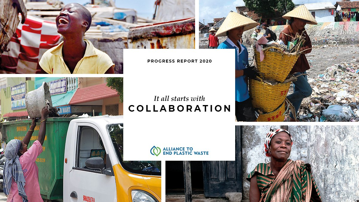 Learn more about #EndPlasticWaste in our 2020 Progress Report. We are focused on the road ahead as we learn from the work we accomplished in the past year. No one can do it alone. It is about all of us: #AllIn #AllTogether.   Download our report: https://t.co/p0vp6DaMlg https://t.co/t4GGTlYety