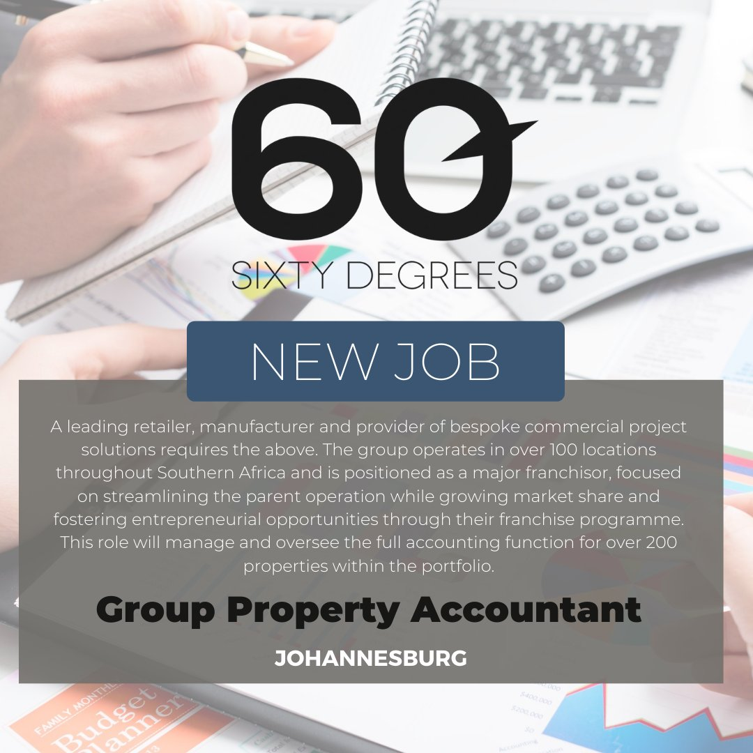 test Twitter Media - New #JobAlert - Group Property Accountant in JHB  For more information & to apply, please click on the link below;  https://t.co/BVmrOMgDjB  #60Degrees #60DRecruiter #60Droles #accounting https://t.co/MNDJIVXMsO
