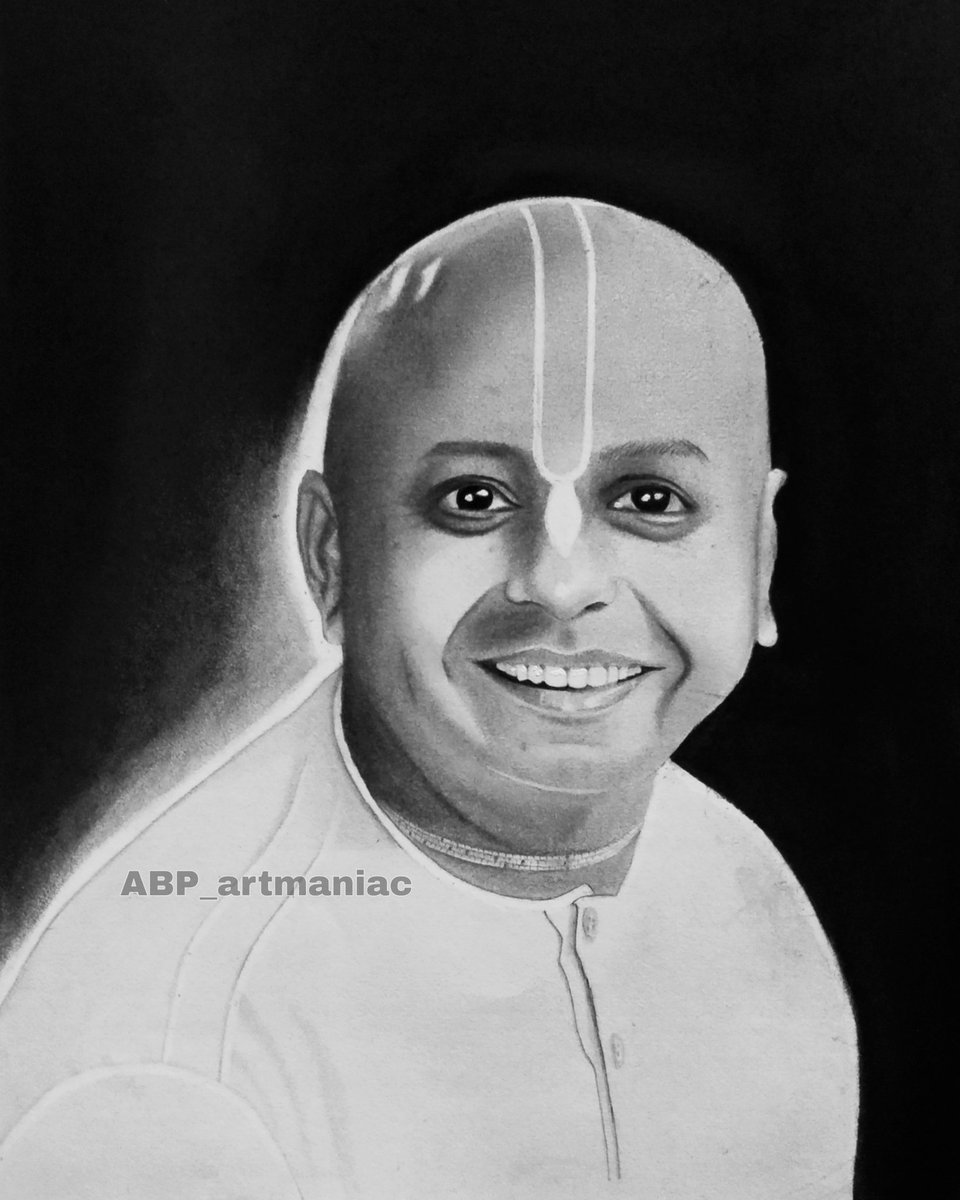 Wish you a very Happy Bday Prabhu ji You are such a great personality ❤ I made this sketch for you... @gaurgopald https://t.co/6YA2HFIak6