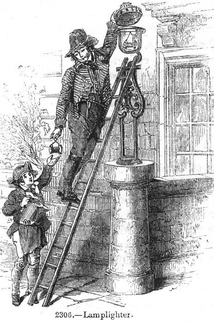 @RobertElms Rather than being a holder for a flare, it seems more probable that the hoop contained the glass lantern, and the spike may well have been a support for the lamplighter's ladder.  I found this old picture for comparison .. https://t.co/jn5FZ4219h