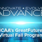 Image for the Tweet beginning: Register today for MCAA's GreatFutures