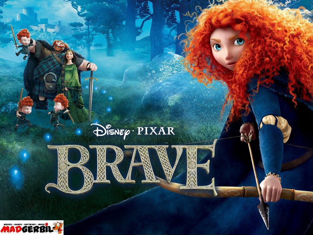 Animated fairytale #Brave from #Disney #Pixar Studios. Headstrong tomboy and skilled archer #Princess #Merida is determined to break with tradition and carve out her own path in life. On #DVD just £7.45 at  #DisneysBrave #DisneyBrave #animation #movienight