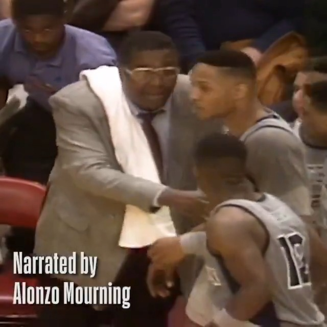 Thank you to Coach Thompson for teaching me lessons that went far beyond basketball.