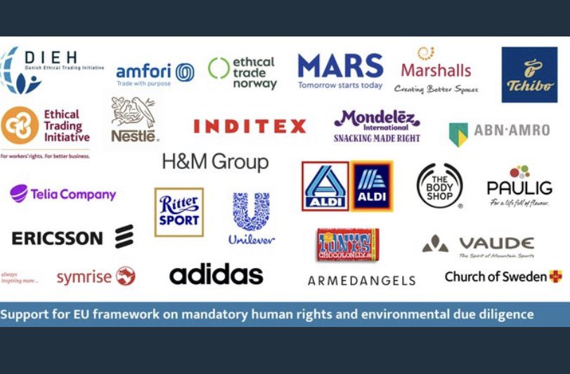 Collaboration is important. So proud that we @Pauliggroup joined with 25 other companies and associations calling for EU framework on mandatory #humanrights and environmental due diligence. @BHRRC @amfori_intl  https://t.co/Pv0CoMKM4M #HRDD @dreynders @HeidiHautala https://t.co/liKOPsH3hq