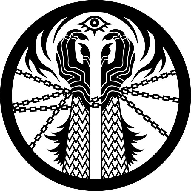 SunnyClockwork on Twitter: &quot;SCP Foundation art, seal design of the Scarlet King. SCP-2317 - A Door to Another World by DrClef: <a href=