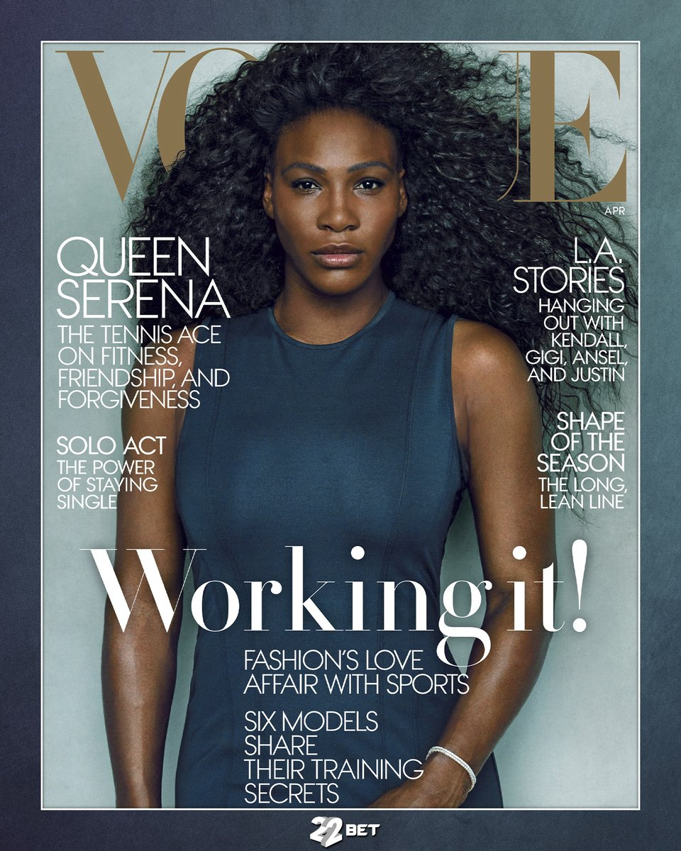 22bet On Twitter Vogue Covers Featuring Famous Athletes Part1 Sport Vogue Neymar Serenawilliams Rashford 22bet