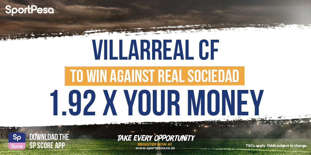 Villarreal CF are up against Real Sociedad in today's #internationalfriendly action! ⚽️Get 1.92 x your money with a play on Villarreal to win! ➡️ https://t.co/02W0kHmgpq https://t.co/2wIH1p5uvq