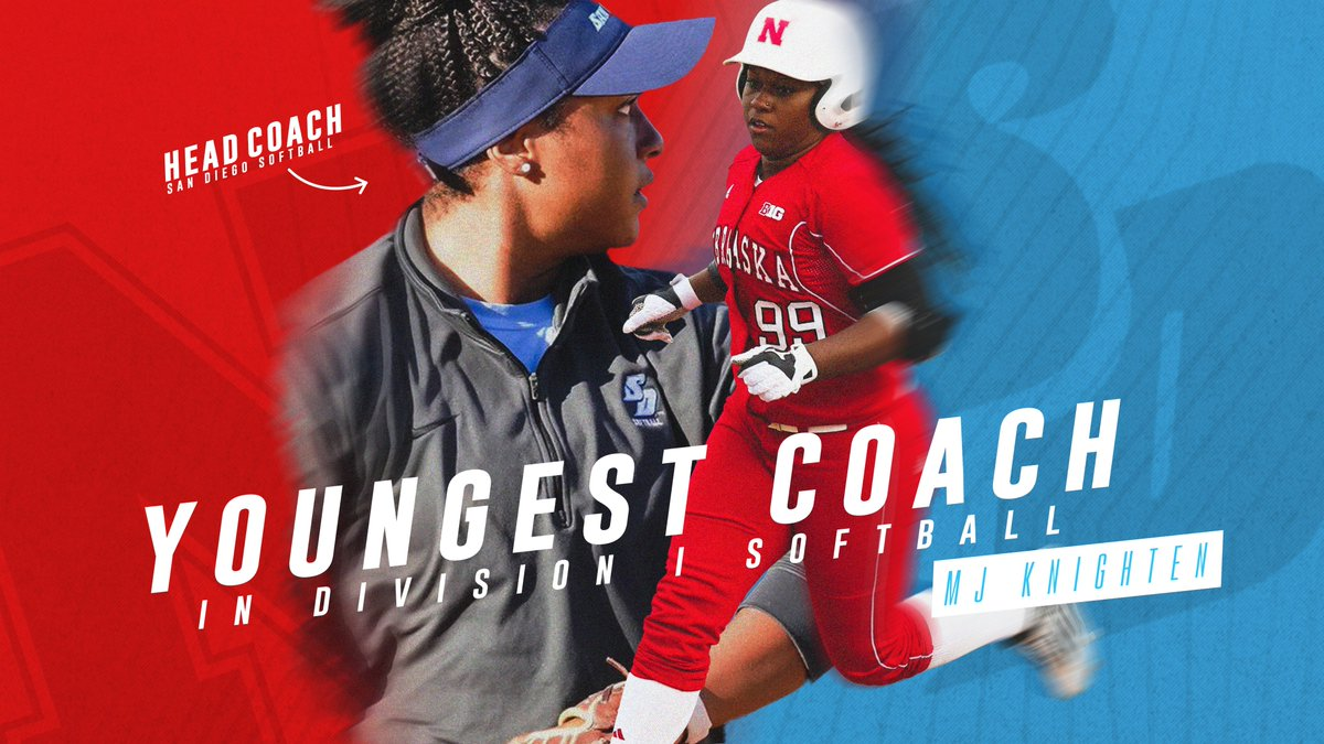 ✅Youngest D1 Head Coach ✅First female Black Head Coach at @USDToreros  ✅1st-Team All-American at Nebraska  Congrats on a HUGE accomplishment, @Marjani_Mj! We couldn't be prouder 💕 https://t.co/kFzgUVdFMs