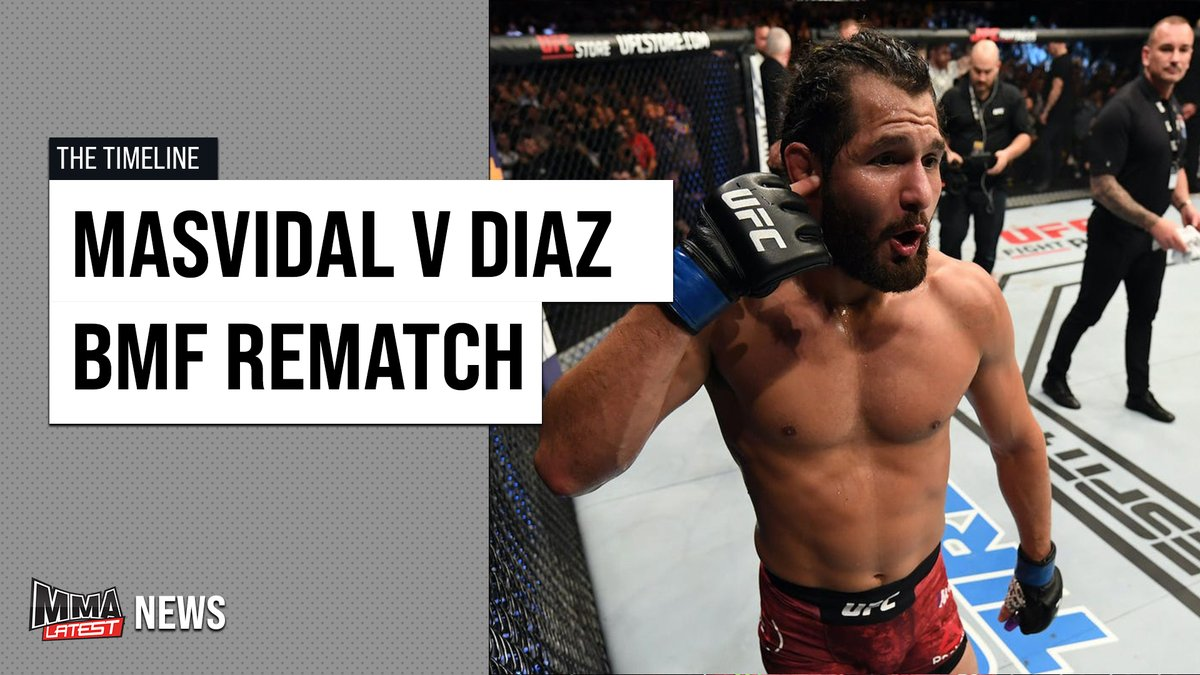 🚨New Video🚨  @MitchellIvy_ discusses the rumoured rematch between Jorge Masvidal and Nate Diaz, for the BMF Title, at #UFC256.   📲 Watch Here: https://t.co/SAeXCdqfHF https://t.co/xFGGE3o5O7
