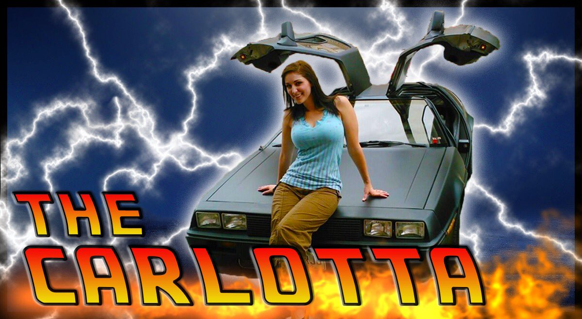 My DeLorean campaign has launched! Patreon now has a top tier thecarlotta.com so you can get all of my nerdy BTTF goodies in one place!