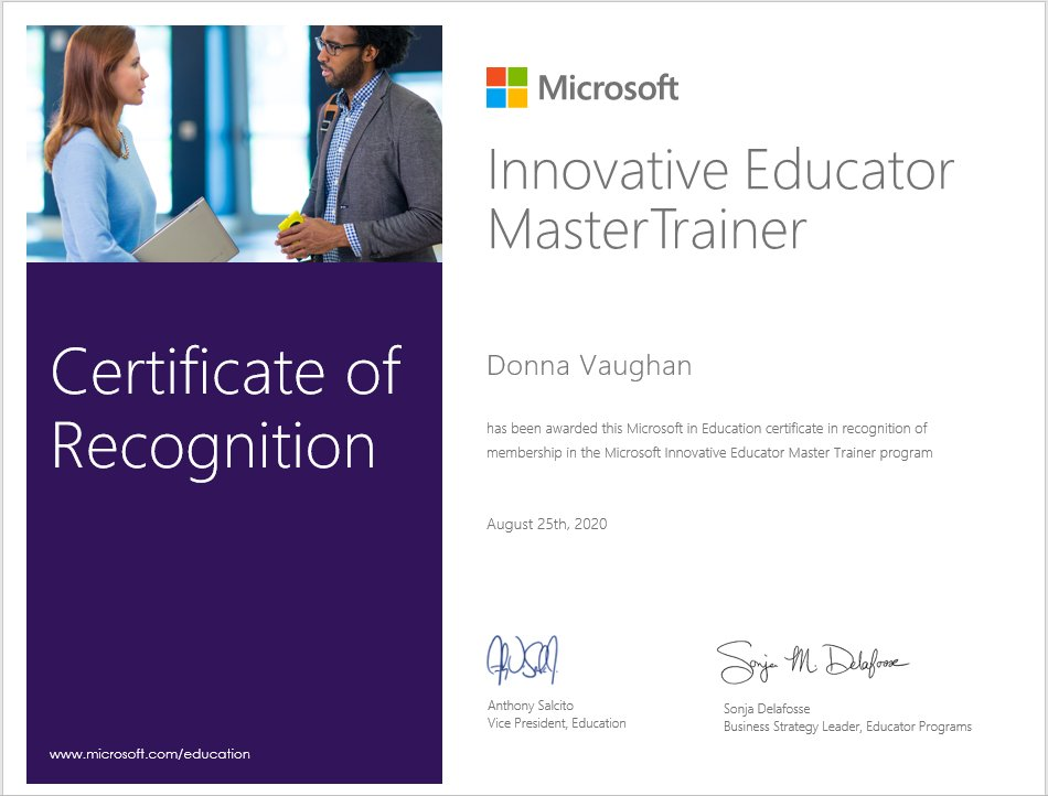 Happy to see this today, it has been a busy start to the year! @MicrosoftEDU @MicrosoftEDU @Ed_Authority @C2k_info