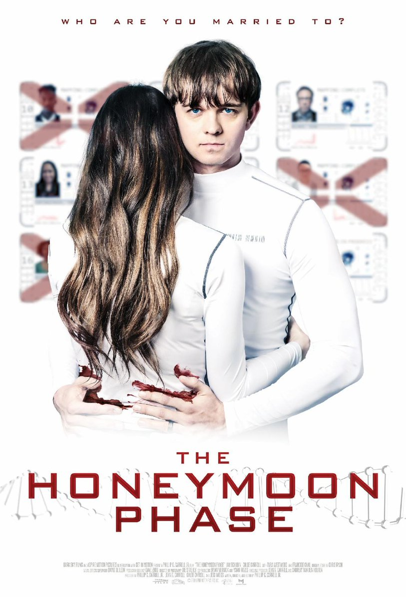 """""""The Honeymoon Phase"""" is now available & trending on @AppleTV, @PrimeVideo & more!   Support this #PhillyFilm about 2 out of luck lovers who join an experiment with deathly consequences.  To keep project like this coming to the city visit https://t.co/69dzuvgtgz @WhoYouMarriedTo https://t.co/Z7hDffspzz"""