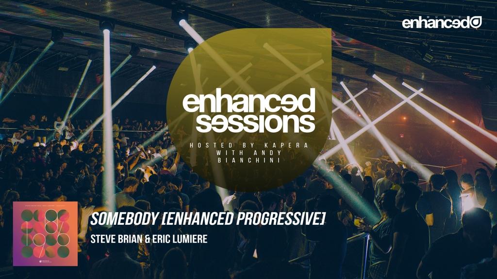 Steve Brian & Eric Lumiere - Somebody [Enhanced Progressive] @SteveBrianMusic @ericlumiere  🎧 Follow the show here - https://t.co/a5PlJtA1pB  #enhancedsessions https://t.co/ScfOxBg3Km