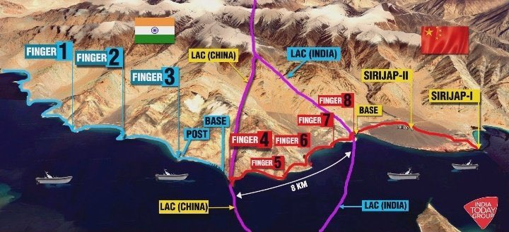 The Indian Special forces have captured Pangong North Finger 4 Ridgeline along the LAC in Ladakh, which is close to the Chinese posts which are just few hundred meters from Indian positions.