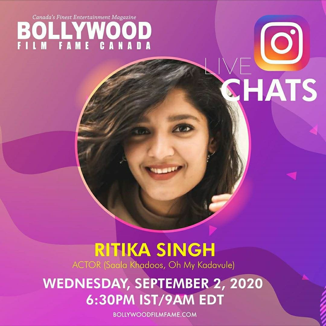 For those who missed it, here's our IG Live with the coolest woman in showbiz, @ritika_offl . We don't say this lightly - she is just pure, real and honest.  https://t.co/Ele7GrqC4t https://t.co/u1ILSzWDDm