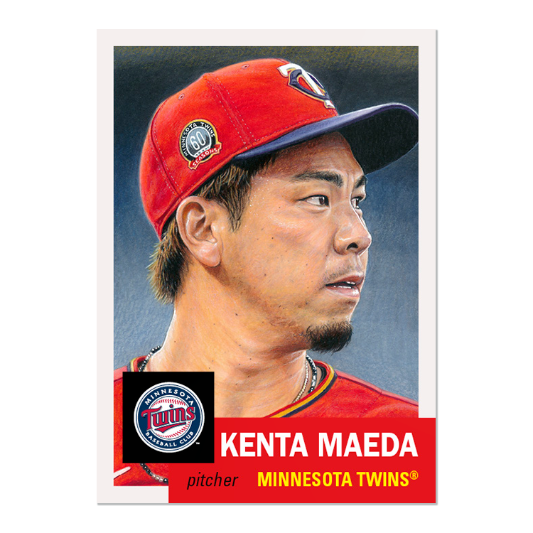 Sorry for the delay, been a little preoccupied lately.  New week of #ToppsLivingSet!  #343 Kenta Maeda, Minnesota Twins #344 Dinelson Lamet, San Diego Padres https://t.co/hQlnyexjKL