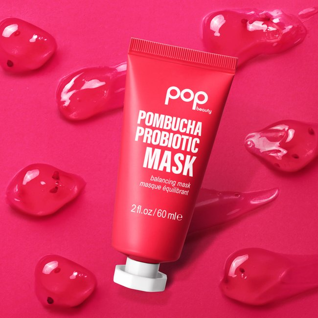 Pombucha Probiotic Mask is a must! Pomegranate & probiotic kombucha help to improve the skin tone and protect. All you gotta do is leave-on for 10-15 minutes, rinse off & then be amazed with the skin-balancing benefits! 😍 #POPbeauty #PombuchaProbioticMask https://t.co/ZWlifNAQZg