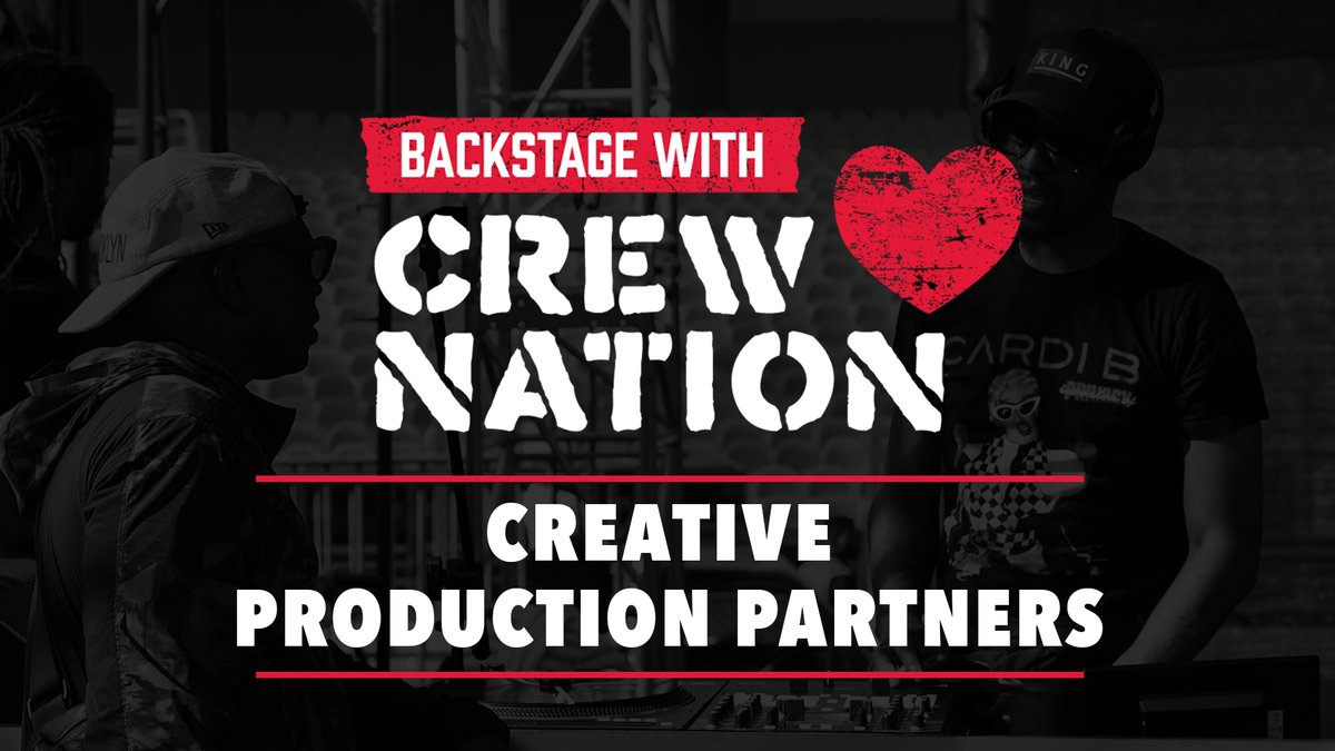 Get a BTS look at @iamcardib, @BoyzIIMen, and @OfficialTLC tours with Creative Production Partners on #BackstageWithCrewNation! Support #CrewNation 🤝 at https://t.co/CvaQvd3shg https://t.co/pABnL0MvDw