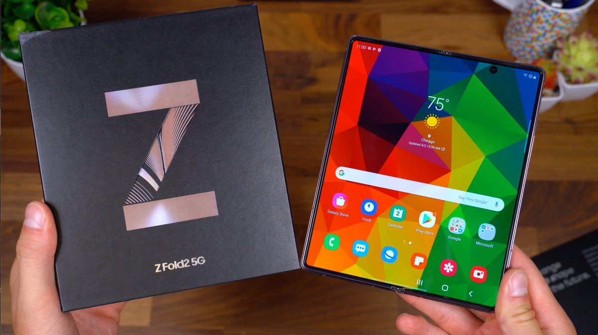 Tim Schofield On Twitter Samsung Galaxy Z Fold 2 Unboxing Video Is Live Check Out This 2 000 Folding Phone From Samsung Https T Co Leu2mfmsrz Rt Https T Co 7axvfuqtv1